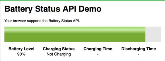 privatei battery monitor demo