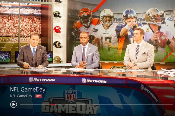PlayStation Vue NFL network
