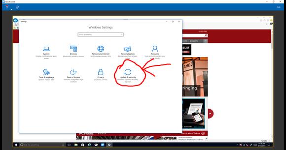 Windows 10 quick assist draw 2