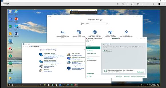 windows 10 quick assist multiple apps 2