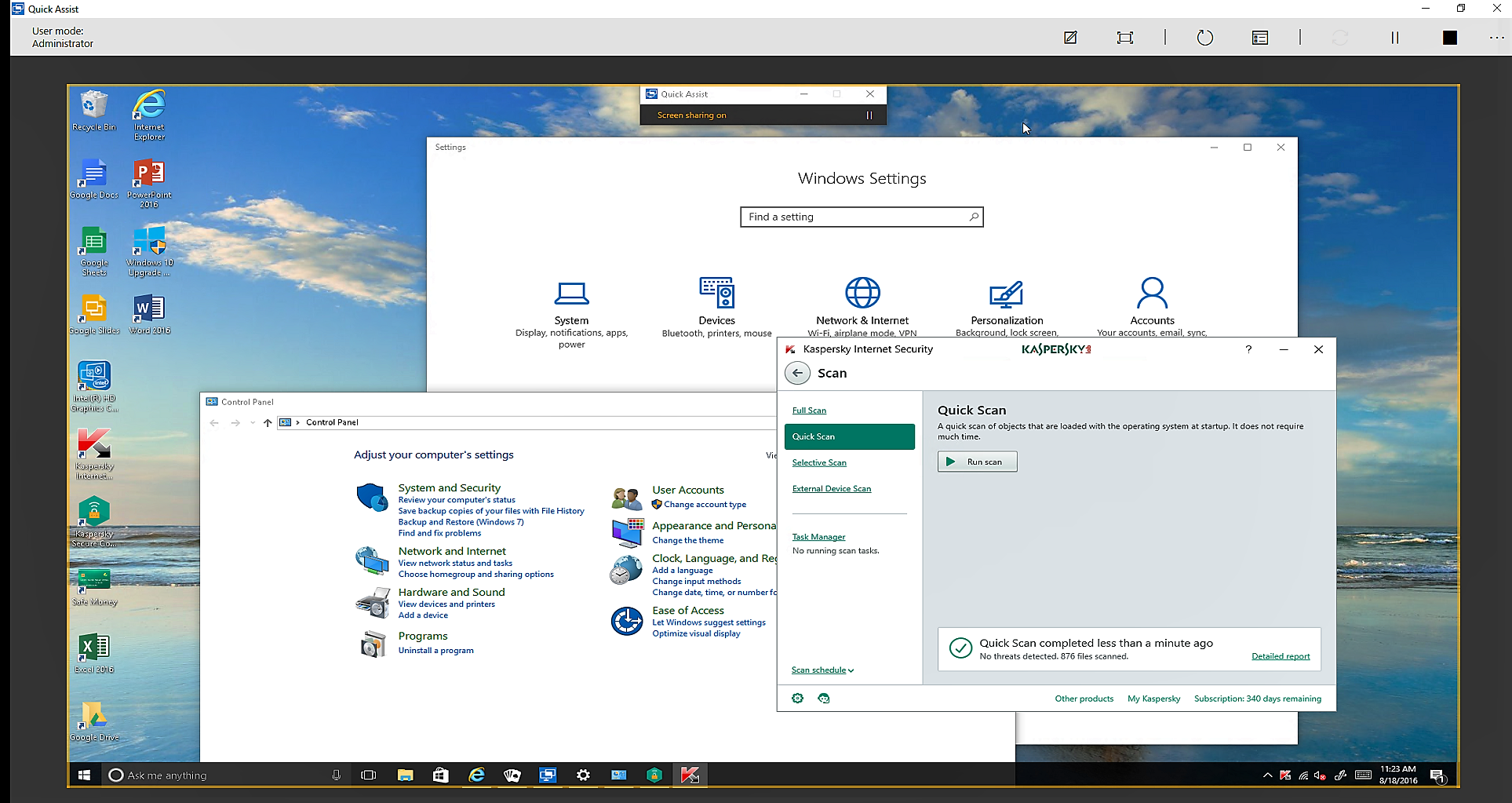 Windows 10\u0027s Quick Assist lets you fix Dad\u0027s computer from your desk