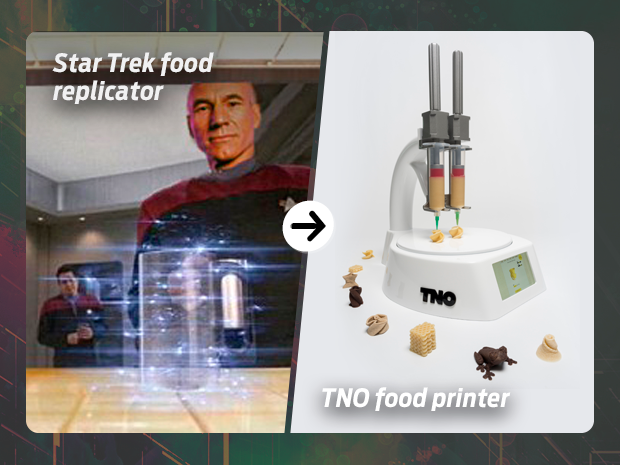 sci fi tech 3D food printer
