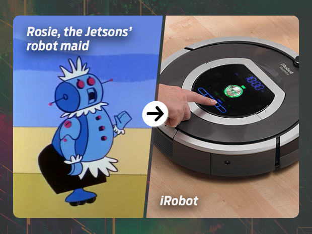 sci fi tech then now rosie the robot robot