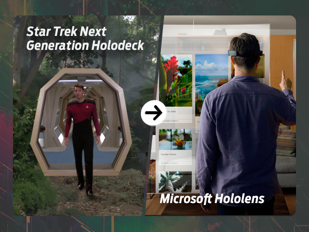 sci fi tech then now holodeck