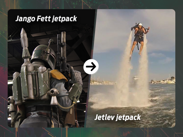 sci fi tech then now jetpack