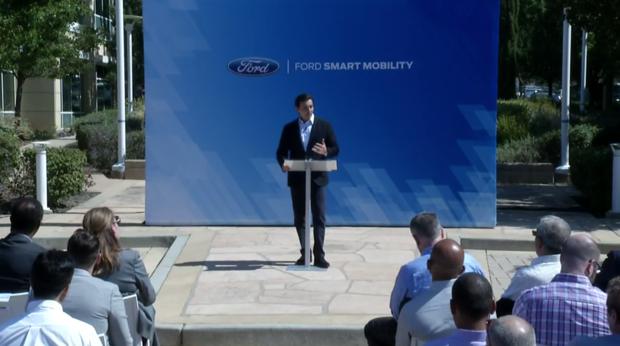 Ford autonomous vehicle