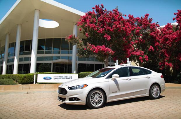 Ford autonomous LiDAR
