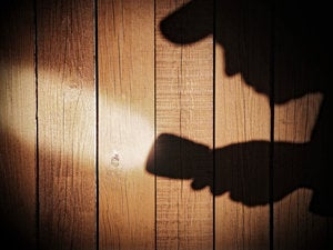shadow flashlight shadowy investigation