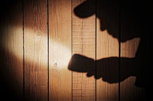 shadow flashlight shadowy investigation