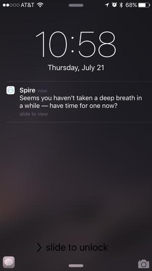 spire notification
