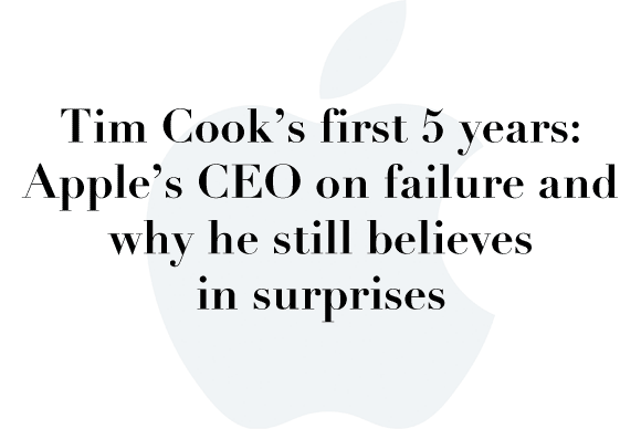 tim cook 5 years