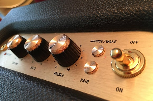 The Marshall's stylish knobs well-implemented and high quality while being a nod to vintage controls
