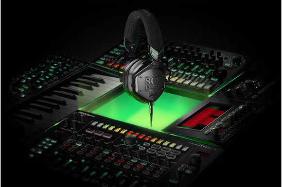 News of the Roland and V-MODA merger were announced on 8/08 as a nod to Roland's iconic 808.