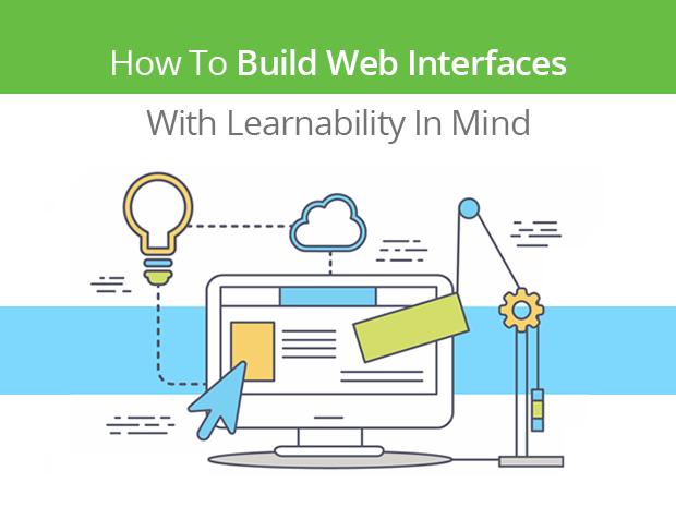 website learnability slide title
