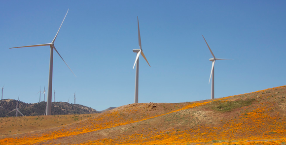windmills newark apple renewable energy
