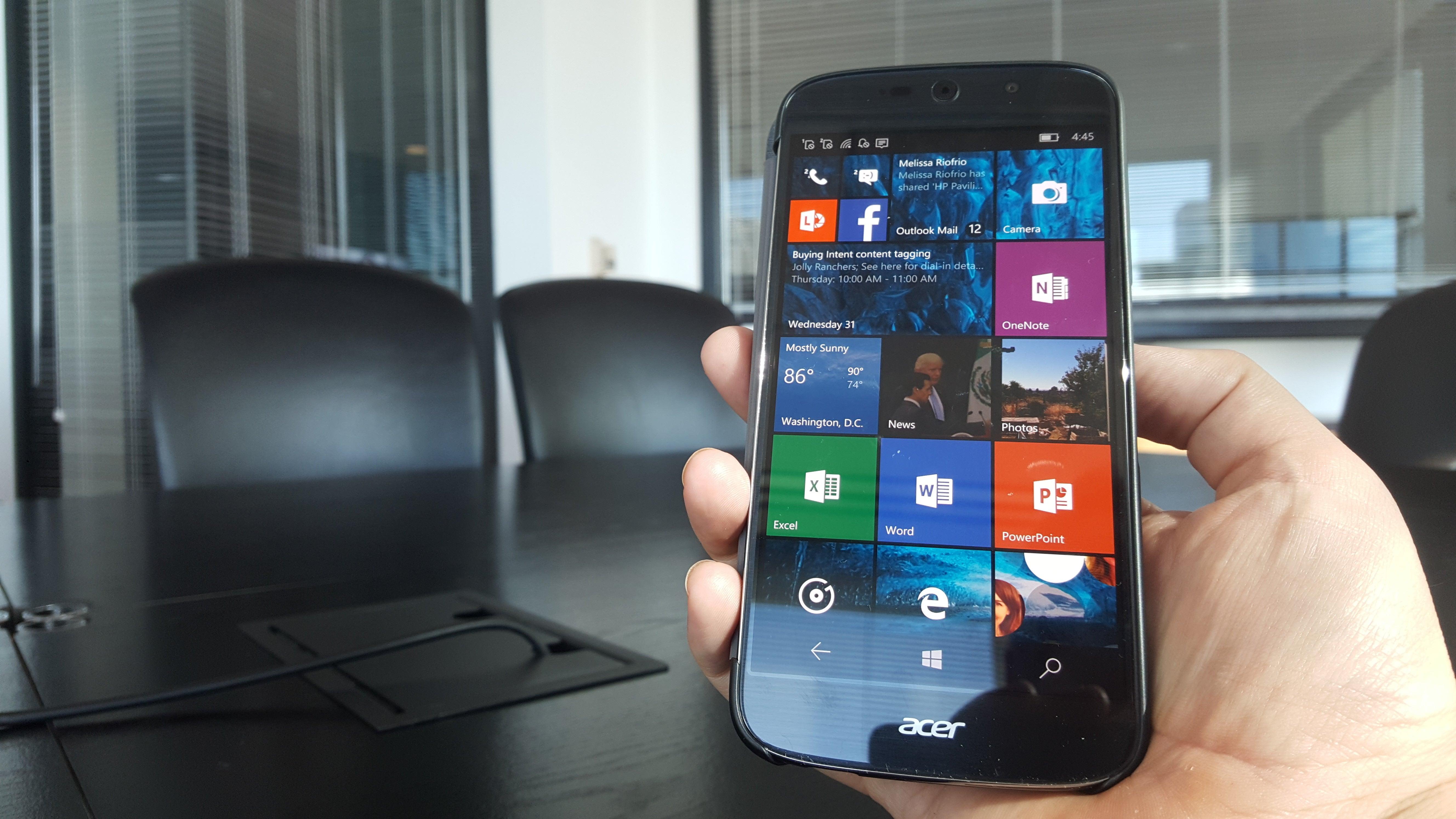 Acer Liquid Jade Primo review: Acer bets big on a Windows ...
