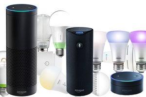 Amazon Alexa lighting