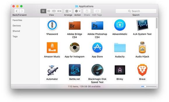 app folder files folders mixed