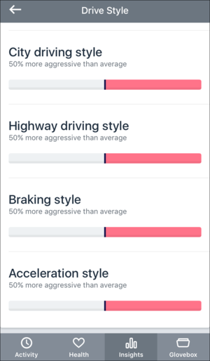 automatic adapter driving style