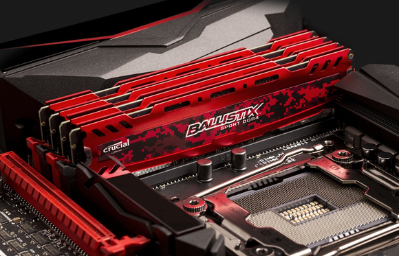 ballistix crucial DDR4 ram