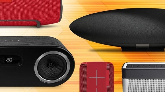 best bluetooth speakers of 2018 reviewed and rated techhive. Black Bedroom Furniture Sets. Home Design Ideas