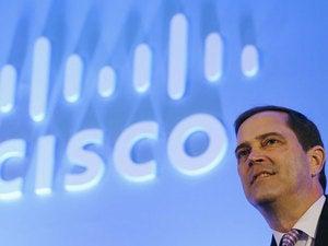Cisco sales tick up, CEO Robbins bullish on data center, security, collaboration