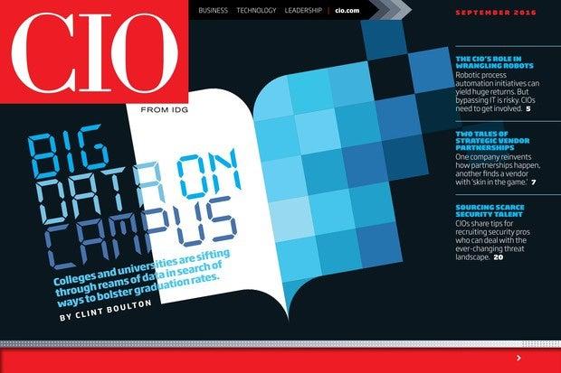 CIO September 2016 issue