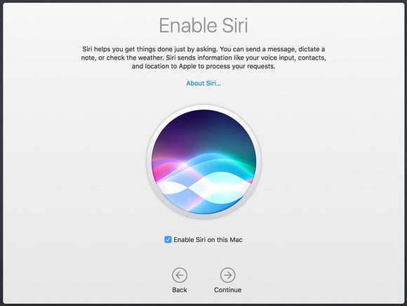 enable siri fresh install gm