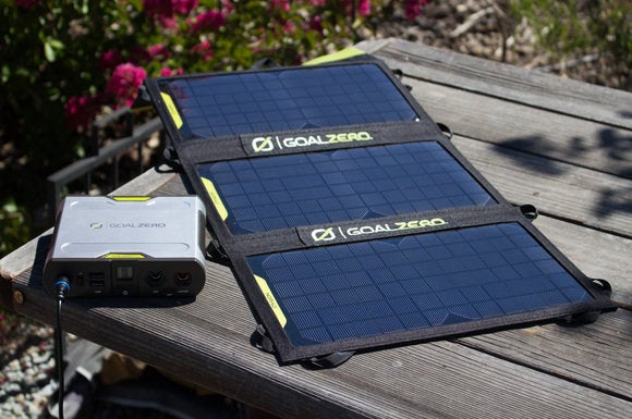 Goal Zero solar panels with battery