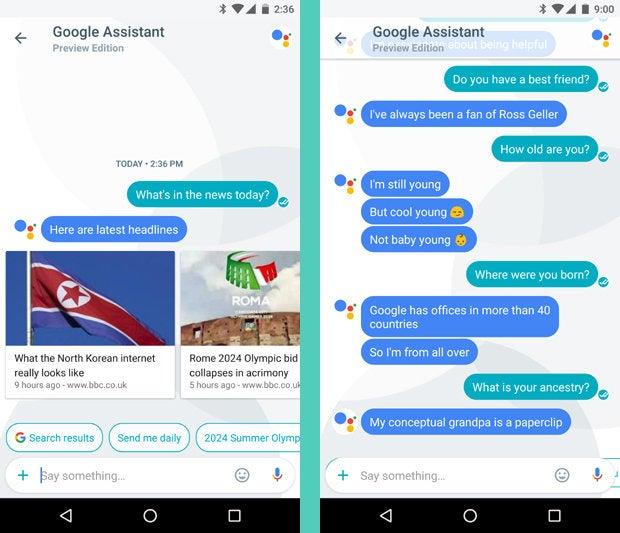 Google Allo, Google Assistant