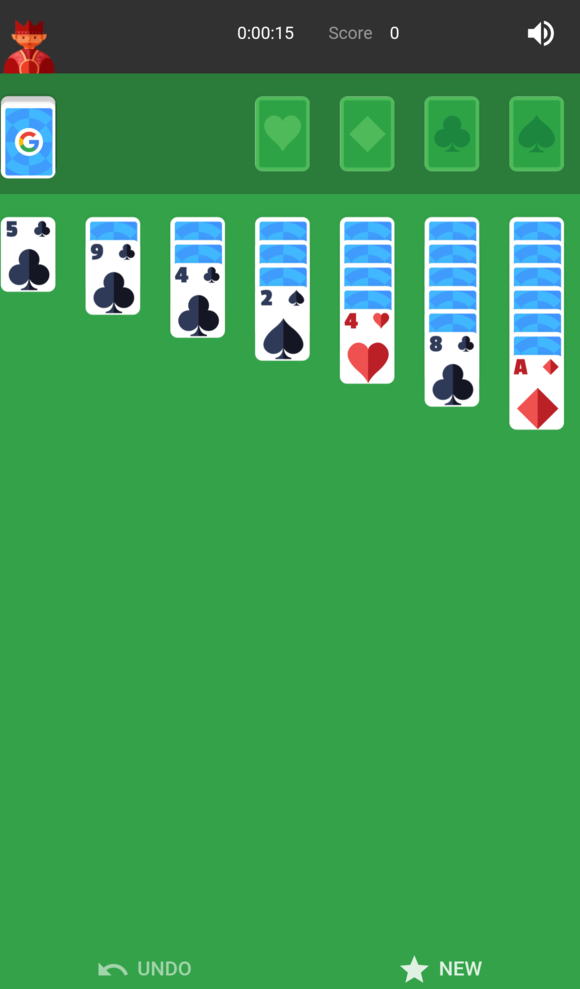 google assistant solitaire