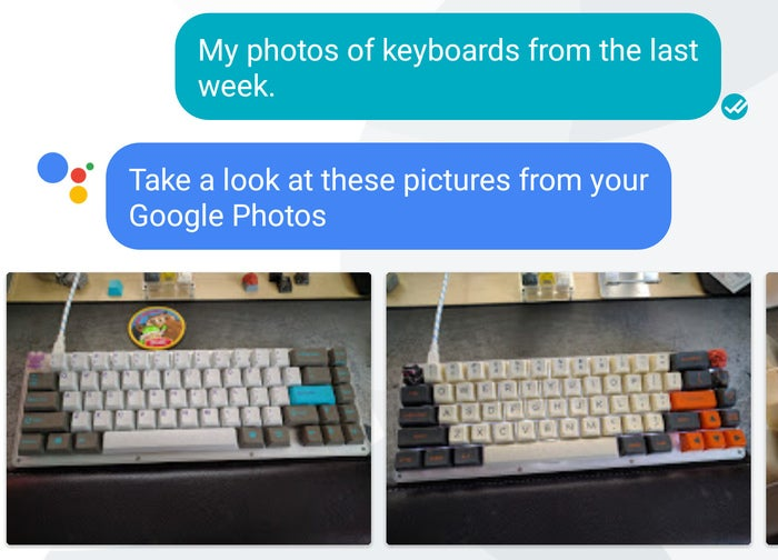 google assistant tips google photos