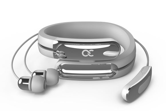 helix cuff wearable headphones