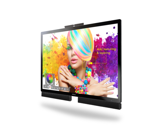 InFocus MondoPad 70-inch all-in-one