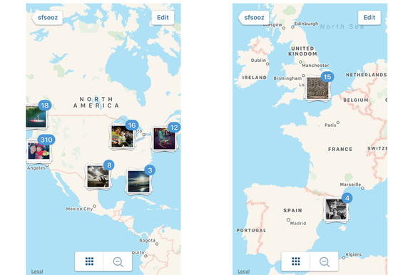 instagram maps