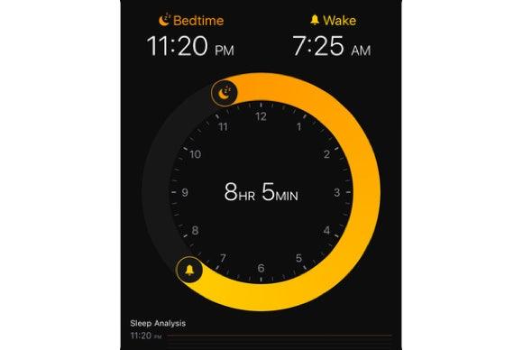 ios 10 bedtime clock app