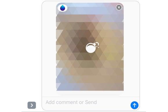 ios 10 imessage apps blur