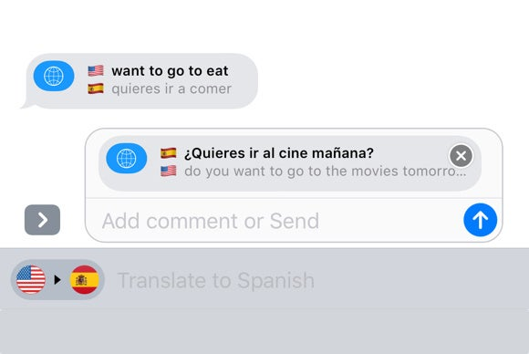 ios 10 imessage apps itranslate