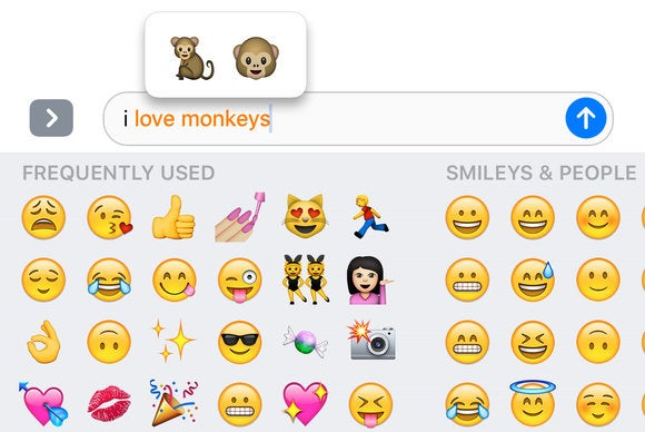 ios 10 messages tap to replace emoji translator