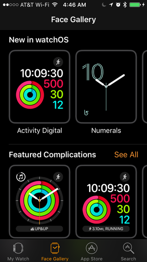 ios10 apple watch face gallery