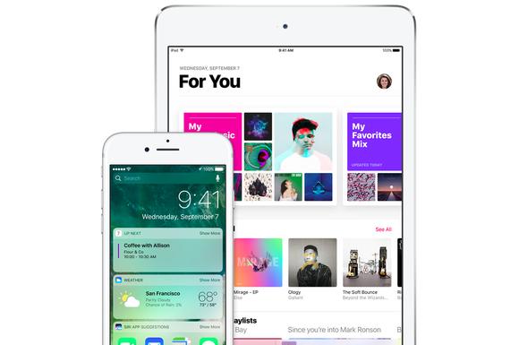 ios10 lock screen music iphone ipad