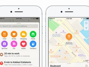 ios10 maps iphone 2up