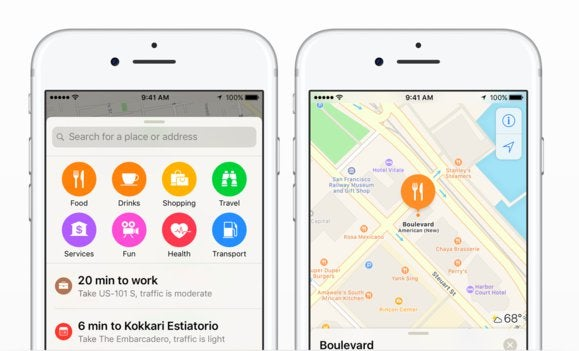 Get to know the allnew muchimproved Maps app in iOS 10 Macworld