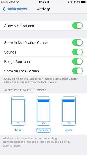 ios10 notifications