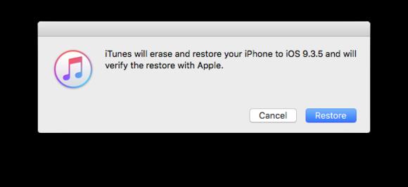 iphone ios9 restore