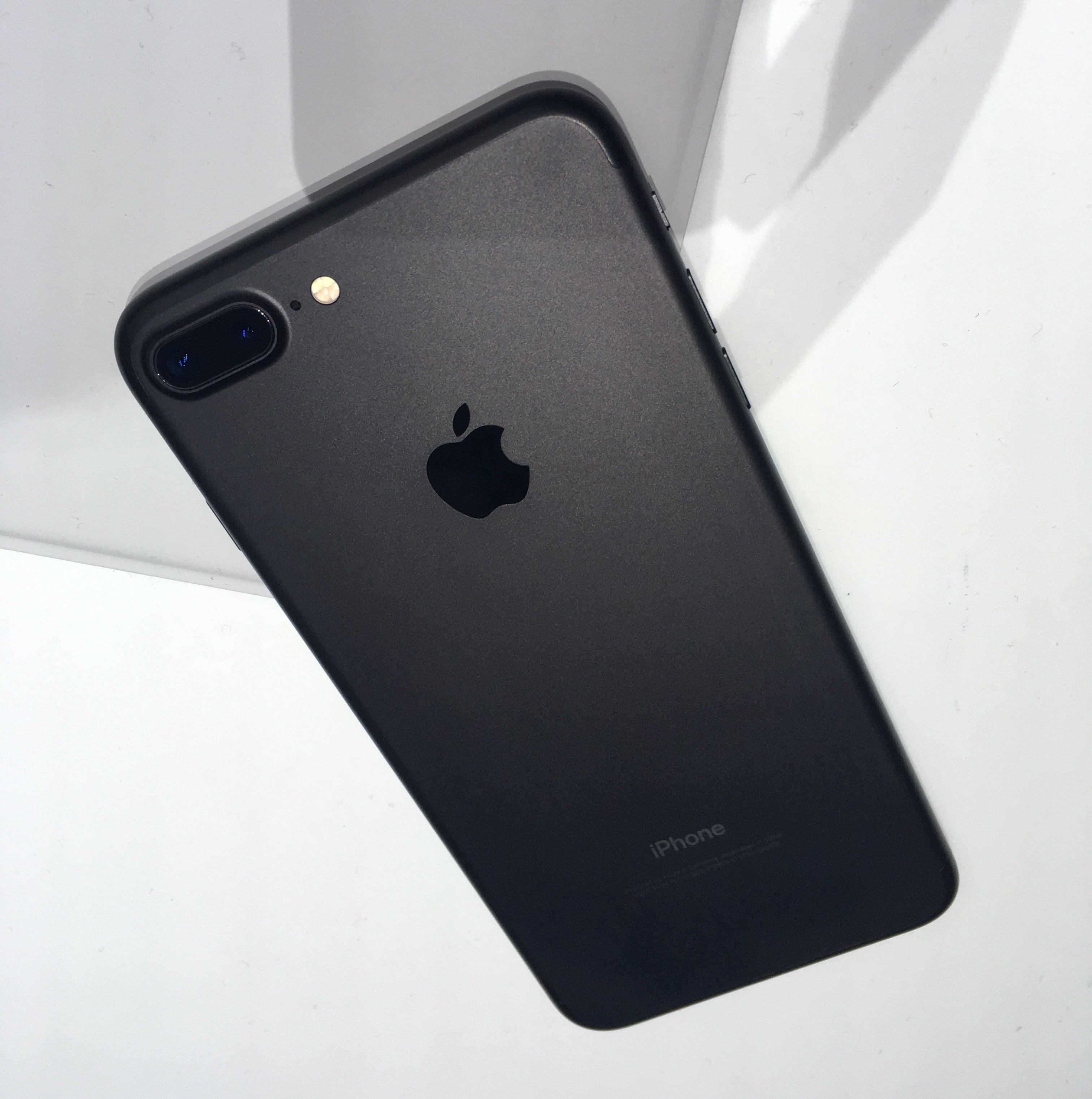 iphone 7 plus matte black front. Iphone7plus Rear Matte Iphone 7 Plus Black Front