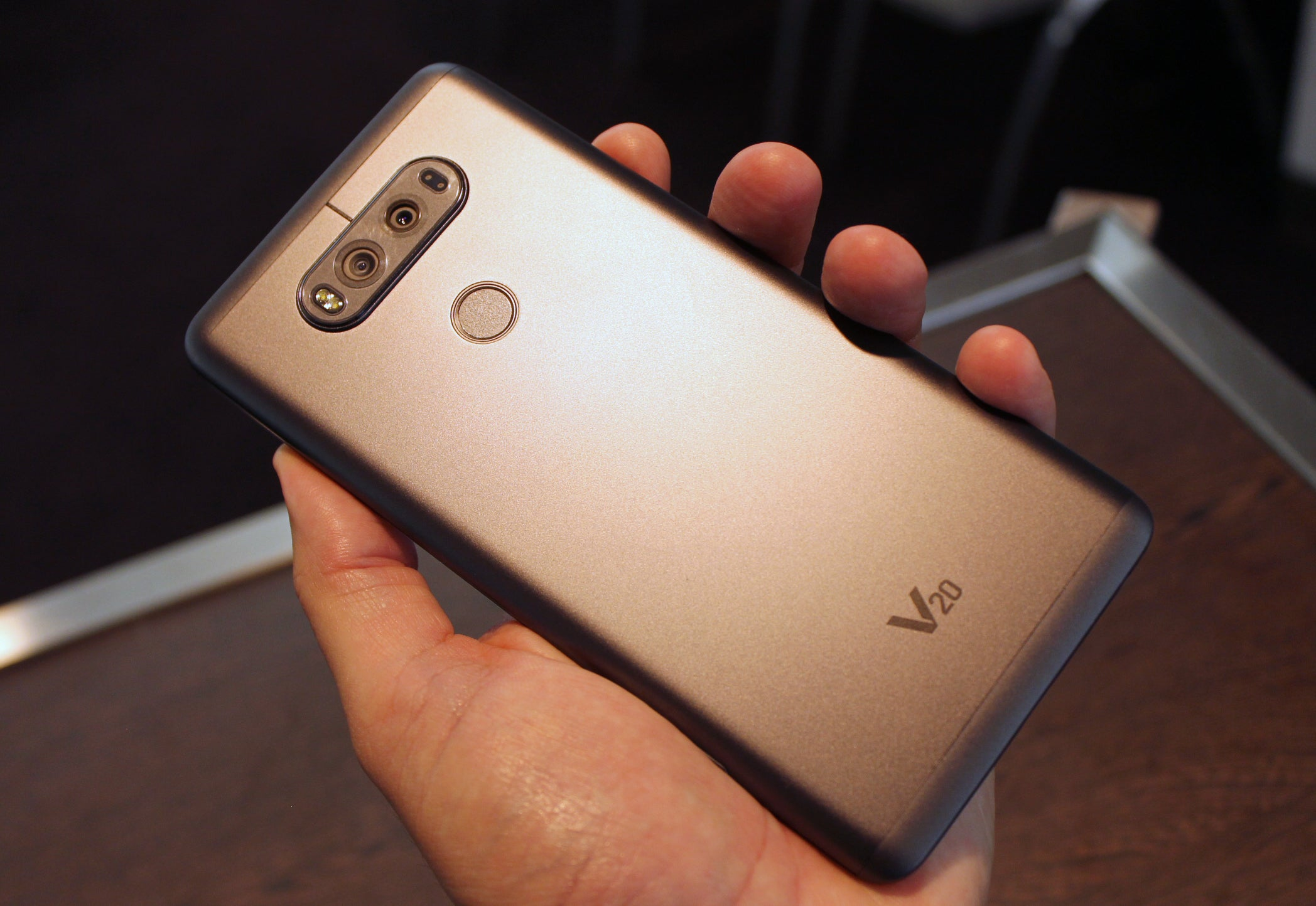 hot sales b1368 26f64 LG V20 hands on: A 5.7-inch phablet for smartphone content creators ...