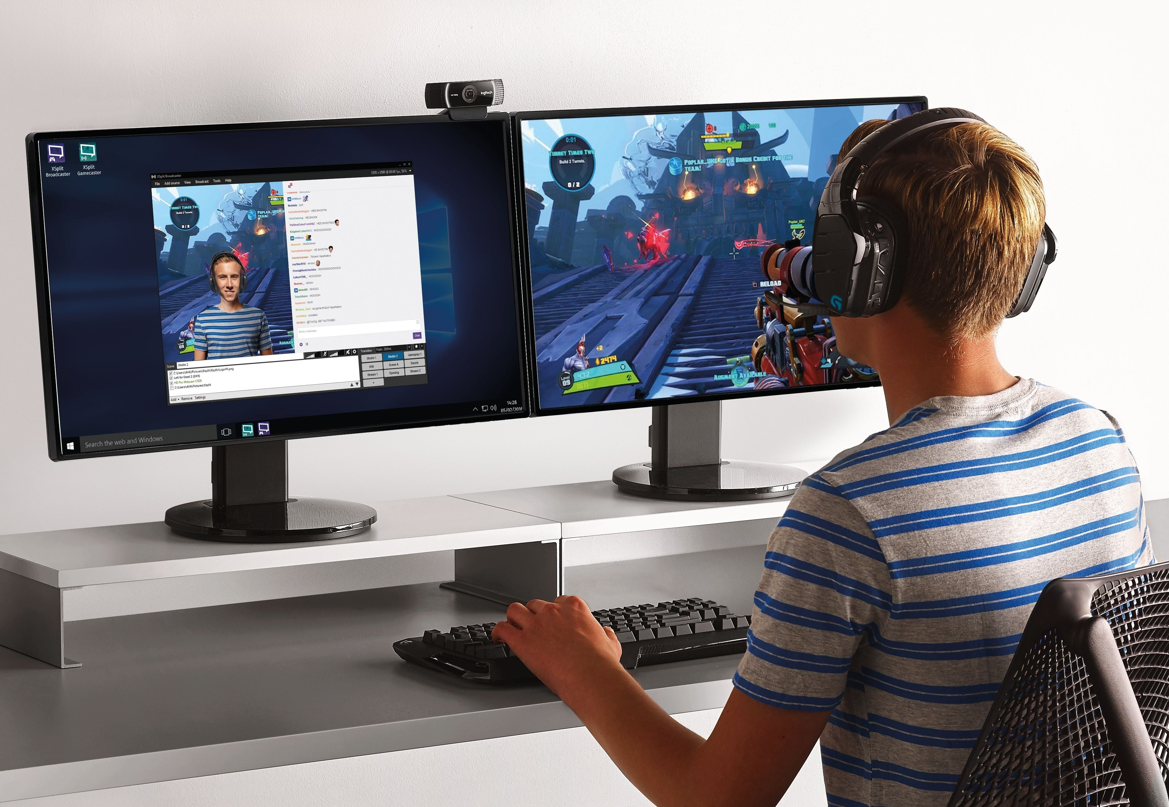Logitech's C922 webcam is the revered C920's vastly upgraded