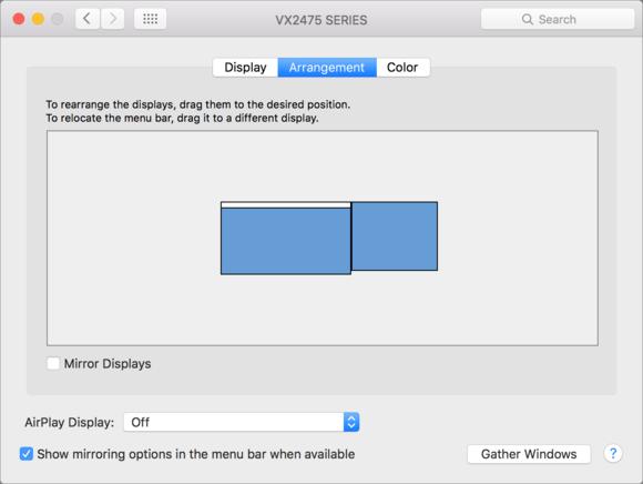 mac911 displays arrangement