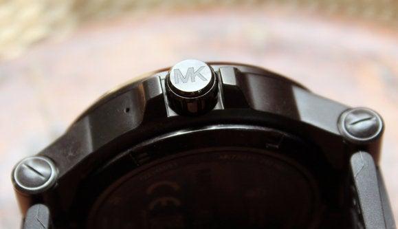 michael kors access crown closeup